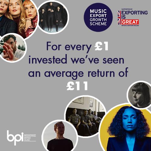 Music Export Growth Scheme - bpi