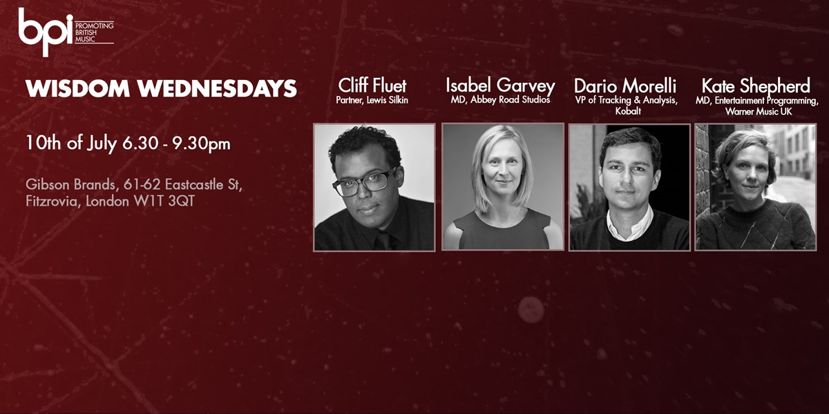 Latest BPI 'Wisdom Wednesdays' event focuses on the music